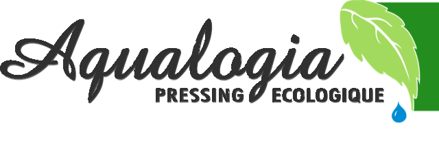 Logo Aqualogia - Franchise pressing ecologique